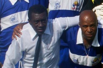 Tuíca foi campeão baiano com o Colo Colo em pleno Barradão contra o Vitória em 2006. Foto: Raimundo Mascarenhas