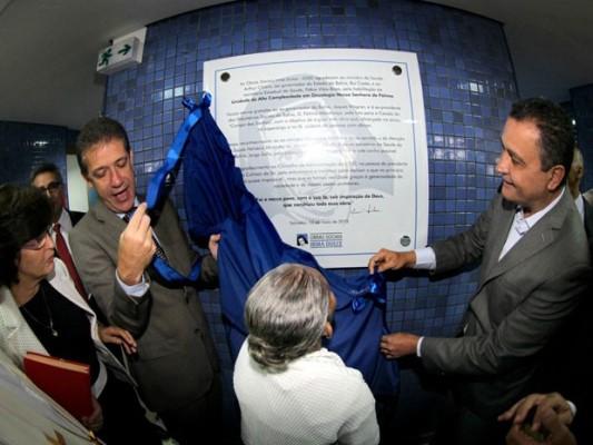 Inauguração contou com presença do ministro da Saúde, Arthur Chioro