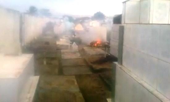 queima de caixões
