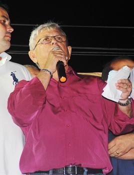 Jorge Andrade falou da dificuldade que vem tendo para governar, mas disse que não falta luta.
