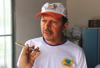 Vice-presidente acredita no grande avanço na apicultura a partir desse importante espaço.