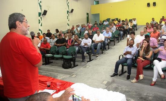 seminário do PT em Valente - Gabrielli2 - foto- Raimundo Mascarenhas