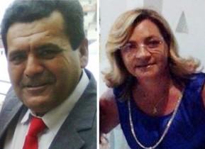 O vereador Roni do do Junco ao lado de sua esposa Rute Almeida