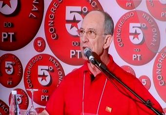 Rui Falcão - Presidente Nacional do PT: Foto: Raimundo Mascarenhas