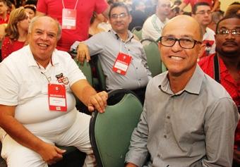 Ao lado de Jonas Paulo ex- presidente do PT, Adailton está confiante na volta por cima,
