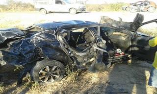 Não há informações de o acidente foi capotamento ou colisão.