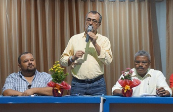 Prefeito de Valente Ismael Ferreira presente no Seminário.