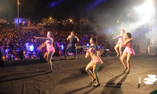 Capital Só Forro foi uma das atrações do sábado.