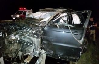 Uma roda traseira teria se soltado para provocar o acidente.