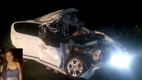 o motorista do Fiat Pálio, de identidade ainda não confirmada, foi encaminhado a um hospital na capital