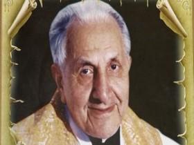 Padre era Italiano e morreu no Brasil ha 7 anos.
