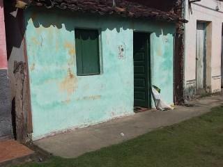 Casa onde ocorreu atentado em Ipiaú