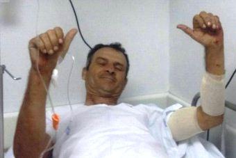 Marcelo mostra sinal de positivo depois de sufoco.