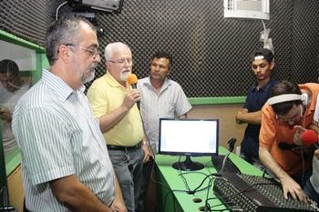 Zé Melquiades reeleito presidente da Rádio disse  que é motivo de grande alegria o retorno da emissora.