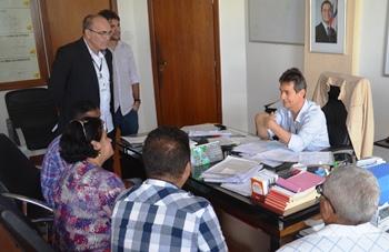Saulo Pontes tem recebido constantes reclamações devido as estradas danificadas.