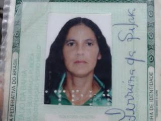 Soraia Ferreira da Silva, de 44 anos foi baleada na cabeça