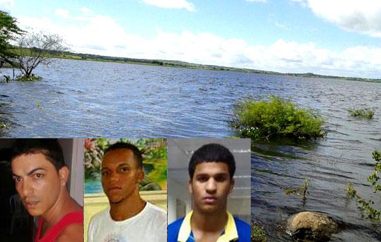 Fia, Darlon e Luizinho - fotos: Correio da Cidade