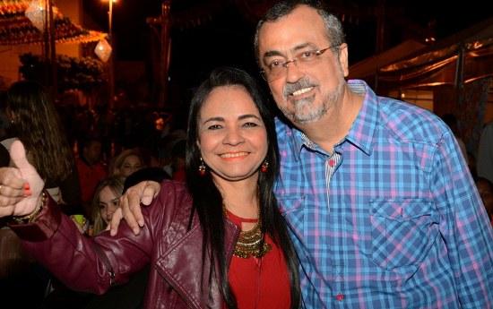 Prefeito Ismael Ferreira recebeu a visita da deputada federal Moema Gramacho.Foto: ASCOM PMV