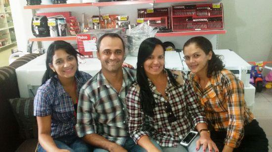 Da esquerda para a direita: Ileana, Temi, Flávia e Janaia.