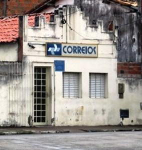 Sem o Banco do Brasil destruído no mês de junho, Os Correios vinha sendo alternativa para diversos serviços.
