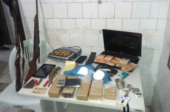 drogas encontradas na casa de silvio