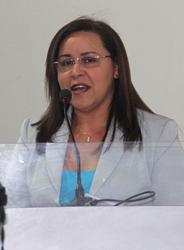 Silvânia foi citada como pré-candidata a prefeita, mas descartou.