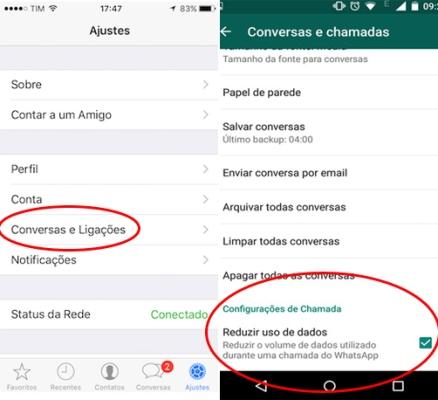 Disponível para aparelhos Android e iOS, a configuração é muito simples e pode ser feita pelo menu do app