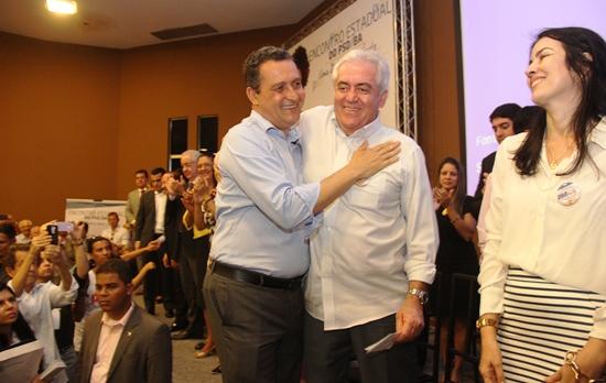 Otto e Rui caminharam juntos na campanha de 2014 e se mostram firmes na aliança.