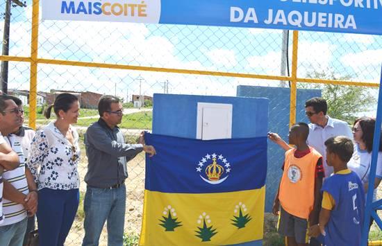 Inauguração na Jaqueira -des