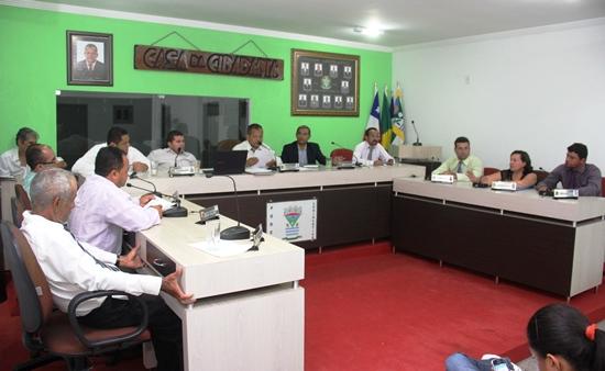 Sessão da Câmara - projeto de criação do CMJ - foto-des- Raimundo Mascarenhas - 1