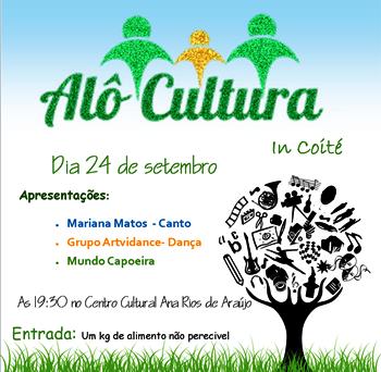 A organização é dos alunos do Colégio Olgarina Pitangueira.
