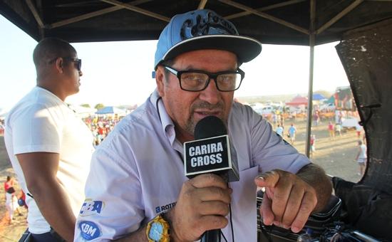 Galvão Bueno do Motocross. Carira