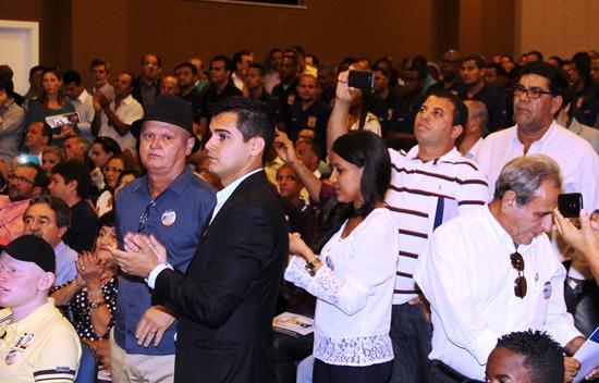 Zé Filho esteve acompanhado dos vereadores Frank e Adonias.