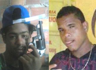 Caíque e Luciano morreram na troca de tiros