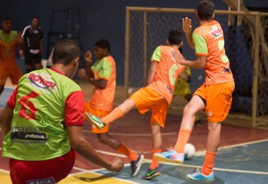 quinto gol do time de Serrinha