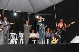 Banda Verbo Vivo cantou o louvor em Onça