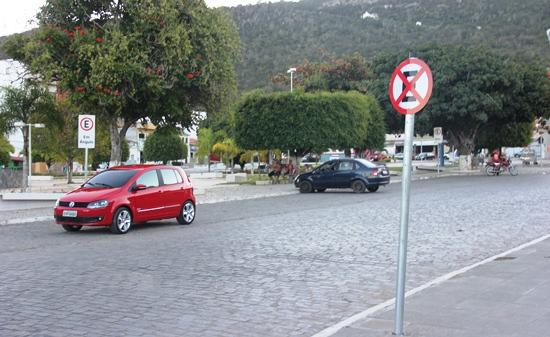 sinalização do trânsito de monte santo - 1