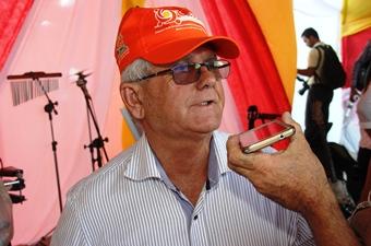 Jorge Andrade prefeito municipal.