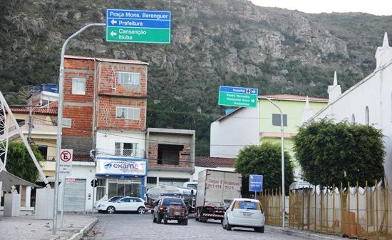 sinalização do trânsito de monte santo - des