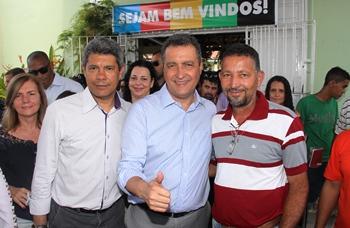 Jeronimo, Rui e João Batista.