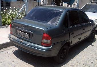 Polícia Militar localizou veículo transitando na estrada vicinal que liga Santaluz ao distrito de Pereira