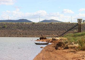 Barragem de Sobradinho está com a capacidade inferior a 6%.