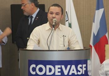 Zenonzinho se disse orgulhoso com a indicação de um conterrâneo para dirigir a Codevasf. regional.
