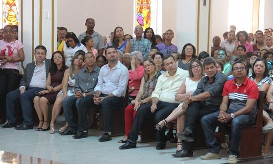 Lideranças políticas presentes falaram da importância de uma visita tão significativa. Foto: Raimundo Mascarenhas