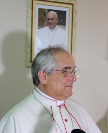 O núncio responde pela papa em um país perante a igreja católica e perante o governo. Foto: Raimundo Mascarenhas