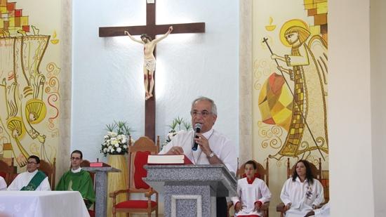 Don Giovanni no Altar da igreja matriz de Barrocas. Foto: Raimundo Mascarenhas