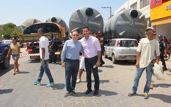 Prefeito Silva Neto agradece o empenho da CAR representada por Wilson Dias