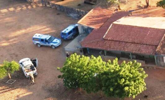 Local do confronto, Corpos foram levados na viatura da Caatinga.