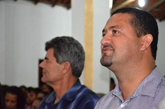 Osni Cardoso disse que Serrinha teve a sorte de ser sede de Diocese. Foto: Teones Araújo.