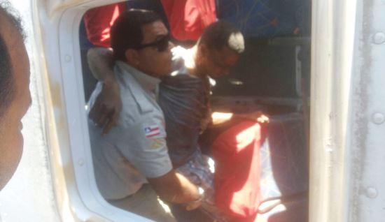 Sem equipe de resgate na região, Policia Militar prestou o serviço.